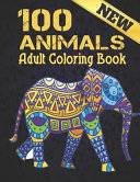 New 100 Animals Coloring Book Adult PDF