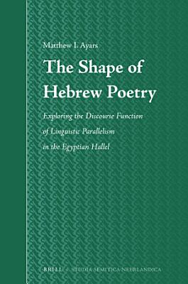 The Shape of Hebrew Poetry PDF