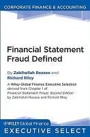 Financial Statement Fraud Defined PDF