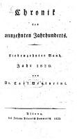 Chronik des neunzehnten Jahrhunderts PDF
