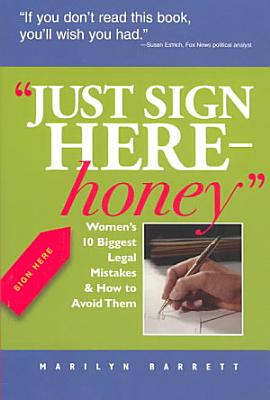 Just Sign Here  Honey PDF