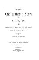 The First One Hundred Years of McKeesport PDF