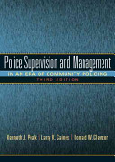 Police Supervision and Management PDF