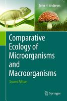 Comparative Ecology of Microorganisms and Macroorganisms PDF