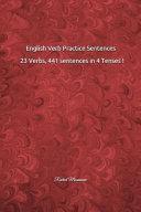English Verb Practice Sentences: 23 Verbs, 441 Sentences in 4 Tenses !: Rachid Moussaoui