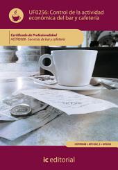 Control de la actividad económica en el bar y cafetería. HOTR0508