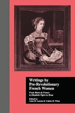 Writings by Pre revolutionary French Women PDF