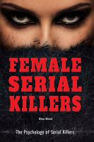 Female Serial Killers PDF