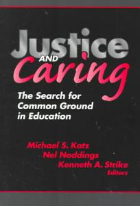 Justice and Caring Book