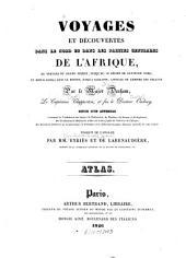 Voyages et découvertes dans le nord et dans les parties centrales de l'Afrique, ...: Exécutés pendant les années 1822, 1823 et 1824 : Suivis d'un app. ... avec un atlas grand in 4o, Volume 4