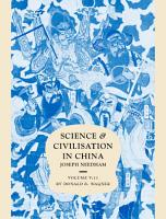 Science and Civilisation in China PDF