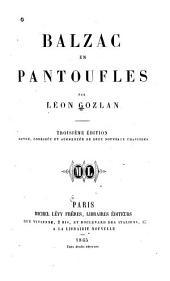 Balzac en pantoufles: Volume2