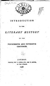 An introduction to the literary history of the fourteenth and fifteenth centuries