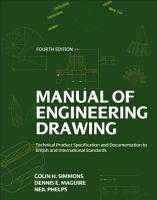 Manual of Engineering Drawing PDF