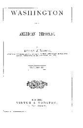 WASHINGTON AND THE AMERICAN REPUBLIC
