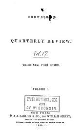 Brownson's Quarterly Review: Volume 1