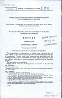 Coral Reef Conservation and Restoration Partnership Act of 2000 PDF