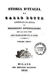 Storia d'Italia di Carlo Botta