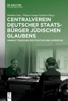 Centralverein deutscher Staatsb  rger j  dischen Glaubens PDF