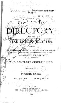 The Cleveland Directory Co  s Cleveland  Cuyahoga County  Ohio  City Directory PDF