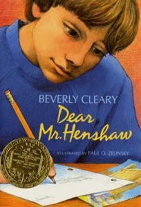 Dear Mr  Henshaw Book
