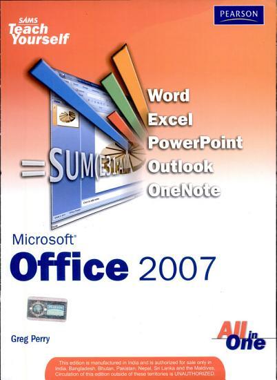 Sams Teach Yourself Microsoft Office 2007 All in One PDF