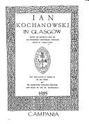 Ian Kochanowski in Glasgow PDF