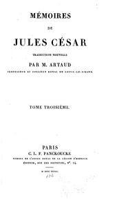 Mémoires de Jules César: Volume3