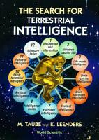 The Search for Terrestrial Intelligence PDF