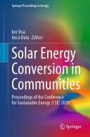 Solar Energy Conversion in Communities