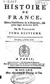 Histoire de France depuis l'établissement de la monarchie jusqu'au regne de Louis XIV