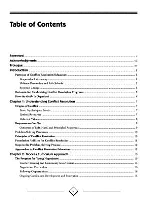 Conflict Resolution Education PDF
