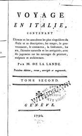 Voyage en Italie: Volume2