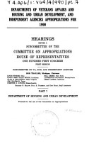 Departments of Veterans Affairs and Housing and Urban Development  and independent agencies appropriations for 1990 PDF