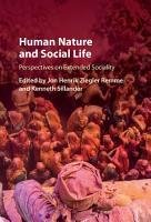 Human Nature and Social Life PDF