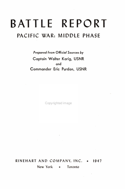 Battle Report s    Pacific war  middle phase PDF