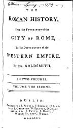 The Roman History Form The Foundation Of The City Of Rome To The Destruction Of The Western Empire  Book PDF