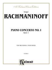 Piano Concerto No. 1 in F-Sharp Minor, Opus 1: Piano Duo/Duet (2 Pianos, 4 Hands)