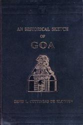 Historical Sketch of Goa