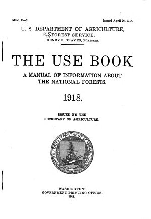 Regulations and Instructions for the Use of the National Forest Reserves