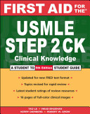 First Aid for the USMLE Step 2 CK Book