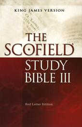 The ScofieldRG Study Bible III, KJV
