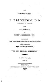 The geniune works of R. Leighton: Volume 4