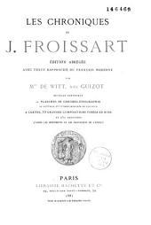 Chroniques: édition abrégée avec texte rapproché du français moderne