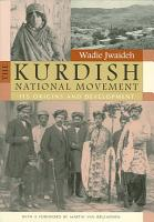 The Kurdish National Movement PDF
