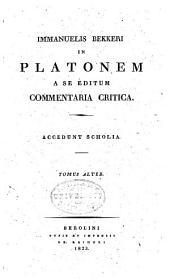 Platonis Dialogi graece et latine: Timneus. Critias. De legibus, lib. I-VI