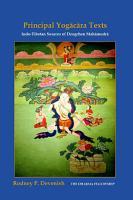 Yogacara Texts  Indo Tibetan Sources of Dzogchen Mahamudra PDF