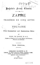 Zaïre: tragédie