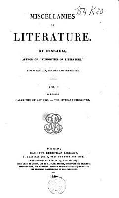 Miscellanies of Literature PDF