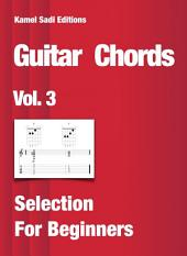 Guitar Chords Vol. 3: Selection For Beginners